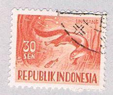 Indonesia 450 Used Otter 1958 (BP25726) - Indonesia