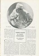 Assez Coupé Il Faut Recoudre (une Chirurgie Nouvelle)  /  Article , Pris D`un Magazine / 1912 - Livres, BD, Revues