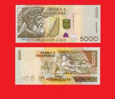 ALBANIA 5000 LEKE 2001 - Albanie