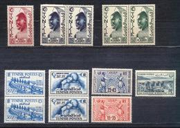 1951 Hermes De Berber Yt TN 347 - Et Autres - Tunisie (1888-1955)