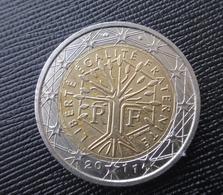France FRANCIA 2011 2 Euro CIRCULEET COIN - France