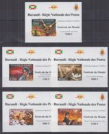 B608. Burundi - MNH - Culture - Festivals - Deluxe - Imperf - Cultures
