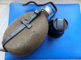 Gourde Allemand WW2, Gourde Quart Bakélite, Gourde Complete Allemande - 1939-45