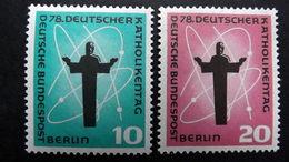 Deutschland Berlin 179/80 **/mnh, Deutscher Katholikentag, Berlin - Unused Stamps
