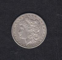 AÑO 1901. 1 DOLAR PLATA. - 1878-1921: Morgan