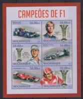 U607. Mozambique - MNH - 2013 - Transport - Formula 1 - Non Classés