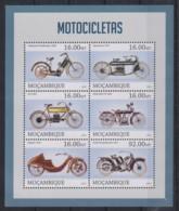 U607. Mozambique - MNH - 2013 - Transport - Motorcycles - Non Classés