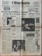 Journal L'Humanité (4 Déc 1964) Procès Madrid - Université - Travailleurs Immigrés - Chanson - Kermesse M Micheyl - Journaux - Quotidiens