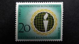 Deutschland Berlin 177 **/mnh, Welt-Frontkämpfer-Kongress, Berlin - Unused Stamps