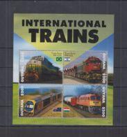 H606. Guyana - MNH - Transport - Trains - 2014 - Non Classés