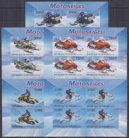G212. Burundi - MNH - Transport - Motorbikes - Imperf - Non Classés