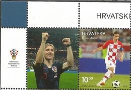 HR 2019-1368 SPORT LUKA MODRIĆ. HRVATSKA CROATIA, 1 X 1v + Label. MNH - Croatia