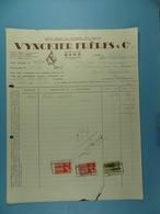 Usine Belge De Matériel électrique Vynckier Frères & Cie Gand /5/ - Electricidad & Gas