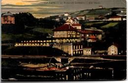 LA PAPE Restaurant Larivoire (verso Cachet HOSPICE NATIONAL DES QUINZE-VINGT Maison De Convalescence) CPA De 1916 TB - Rillieux La Pape