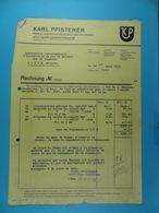 Karl Pfisterer Fabrik Elektrotechnischer Spezialartikel Stuttgart /6/ - Électricité & Gaz