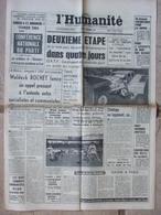 Journal L'Humanité (7 Déc 1964) Publicité ORTF - Abbé Boyer - JC Averty - Chanson - Journaux - Quotidiens