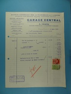 Garage Central A.Crispin Chaussée De Bruxelles Dampremy Charleroi /8/ - Automobile