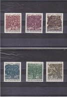 BULGARIE 1964  ARBRES Yvert 1296-1301 NEUF** MNH - Bulgarie