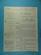 Agence Exclusive Des Automobiles Et Camions A.Crispin Chaussée De Bruxelles Dampremy Charleroi //9/ - Automobile