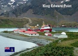 AK Südgeorgien South Georgia King Edward Point New Postcard - Postcards