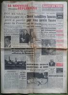 Juin 1960.Conquête De L'Espace,une Fusée, 2 Satellites.24 H Du Mans, Essais Dramatiques.Tour De France. - Journaux - Quotidiens
