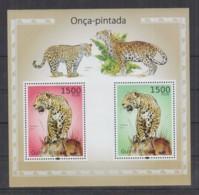 L211. Guine-Bissau MNH - 2010 - Nature - Fauna - Wild Animals - Big Cats - Bl - Stamps