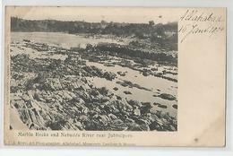 Inde India Marble Rocks And Nebudda River Near Jubbulpore - Rust Art Photographer Allahabad , Mussoorie , Meerut - Inde