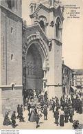 LA LOUVESC - Sortie De La Messe - Très Bon état - La Louvesc