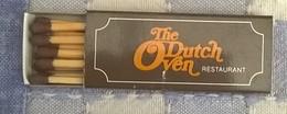 Restaurant The Dutch Oven à Amsterdam - Boites D'allumettes