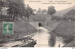 GIVET - Les Trois Fontaines  Le Souterrain Du Canal - Côté De Ham Sur Meuse - Très Bon état - Givet