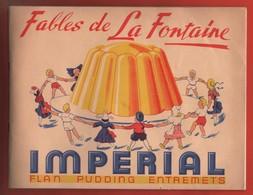 RARE ALBUM COLLECTEUR D'IMAGES - FLAN IMPÉRIAL - FABLES DE LA FONTAINE - INCOMPLET - Autres Collections