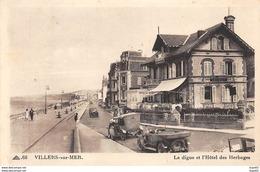 VILLERS SUR MER - La Digue Et L'Hôtel Des Herbages - Très Bon état - Villers Sur Mer