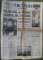 Avril 1961.Conquête De L'Espace,Youri Gagarine.Jo Schlesser. - Journaux - Quotidiens