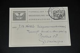 2    FORMULIER TOT MEDEDEELING VAN ADRESWIJZIGING, BAARN - 1944 - Kaarten