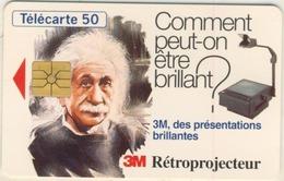 Télécarte  50 Unités  3M RETROPROJECTEUR - France