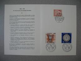 Document  1976   Europa -Conseil De L'Europe Strasbourg -  15 è Congrès Européen Des Loisirs Jumelage Européen - 1961-....