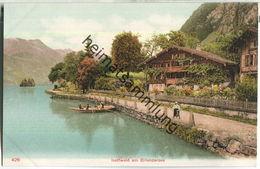 Iseltwald Am Brienzersee - Verlag F. J. B. Ca. 1905 - BE Berne
