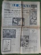Avril 1961.Conquête De L'Espace,Youri Gagarine.Accident La Luptière,Allonnes. - Journaux - Quotidiens