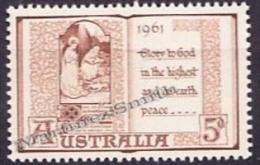 Australia 1961 Yvert 276, Christmas - MNH - 1952-65 Elizabeth II: Ediciones Pre-Decimales