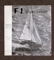 Sport Vela - Brochure F J Organization - Bollettino Segreteria Italiana - 1965 - Livres, BD, Revues