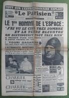 Avril 1961.Conquête De L'Espace,Youri Gagarine.Line Renaud.explosion Camp De Gitans à Marly.Nancy - Journaux - Quotidiens