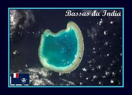 AK Iles Eparses Bassas Da India Atoll Scattered Islands New Postcard - TAAF : Franse Zuidpoolgewesten