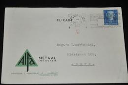 7    BEDRIJFSKAART  ALFA METAAL, HAARLEM - 1952 - Autres