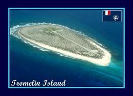 AK Iles Eparses Tromelin Island Aerial View Scattered Islands New Postcard - TAAF : Franse Zuidpoolgewesten