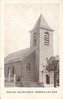 CP - Belgique - Ath - Eglise Saint-Jean - Arbres-lez-Ath - Ath