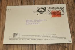9    BEDRIJFSKAART   N.V. HIWEG, APELDOORN - 1955 - Andere