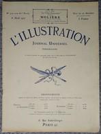 L'Illustration 4127 8 Avril 1922 Einstein Au Collège De France/Toulouse Lautrec/Majorelle Au Maroc/Auguste Brouet/Gènes - Journaux - Quotidiens
