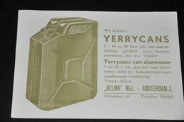 11    BEDRIJFSKAART   DELMA INDUSTRIE, AMSTERDAM-Z - 1955 - Andere