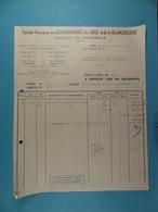 SA Des Boulonneries De Liège Et De La Blanchisserie Division Marcinelle /12/ - Allemagne