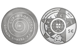 """PORTUGAL 5 Euro  2.019  2019  """"RENASCENÇA""""  CU-NI  SC/UNC   T-DL-12.275 - Portugal"""